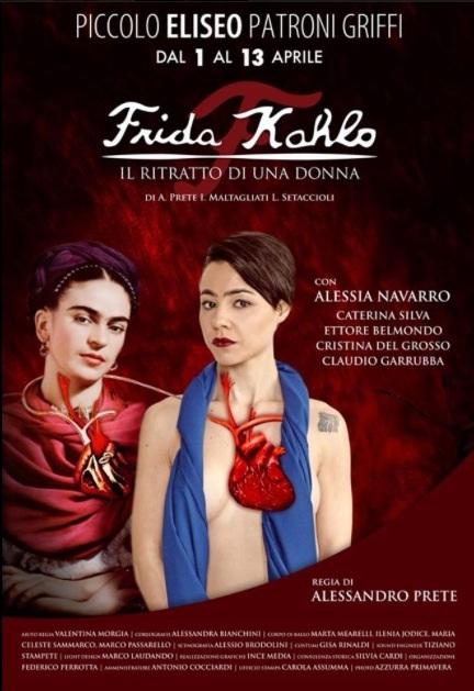 Frida Kahlo in scena al Piccolo Eliseo Patroni Griffi di Roma