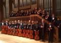 La Spartanburg High School Orchestra in concerto a Frascati