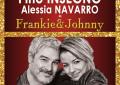 Pino Insegno e Alessia Navarro in scena con Frankie e Johnny