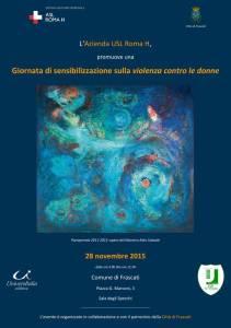 locandina_evento_su violenza_contro_le_donne_a_frascati