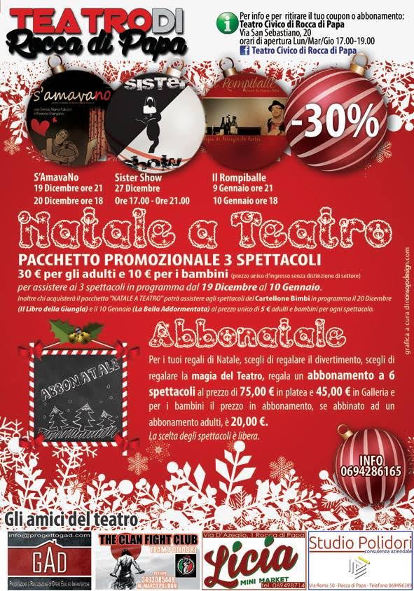 natale a teatro