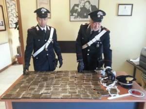 hashishsequestratodaCarabinieriAnzio