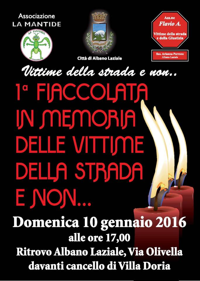 fiaccolata_vittime_strada_albano