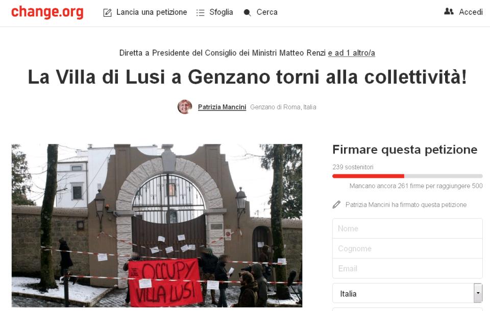 petizionevillalusigenzano