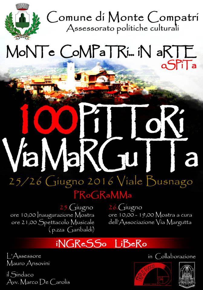 manifesto100pittorimontecompatri
