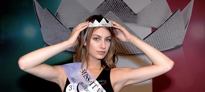 Sara Scorziello è Miss Equilibra Lazio