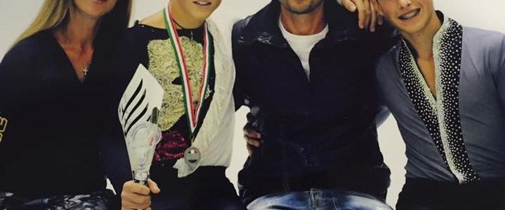Skating Frascati pattinaggio, Lorenzo Neri è vice-campione d'Italia