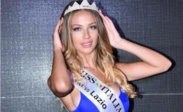Federica Proia laureata Miss Lazio 2016