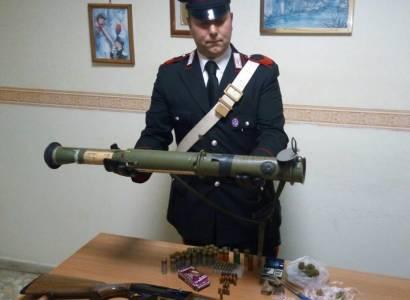 Zagarolo, i Carabinieri sequestrano un lanciagranate