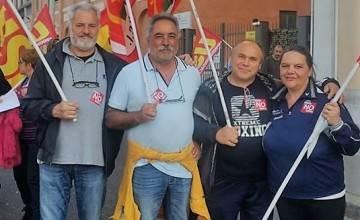 Pci Castelli Romani al corteo del No Renzi day