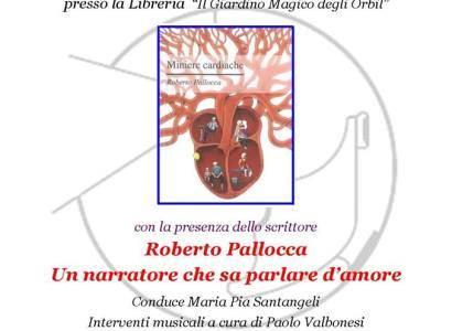 """Rocca di Papa, Tè letterario sul libro """"Miniere Cardiache"""" di Roberto Pallocca"""