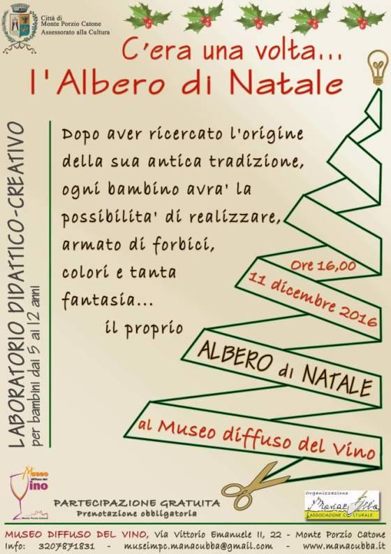 Il programma del Natale 2016 del Polo Museale di Monteporzio