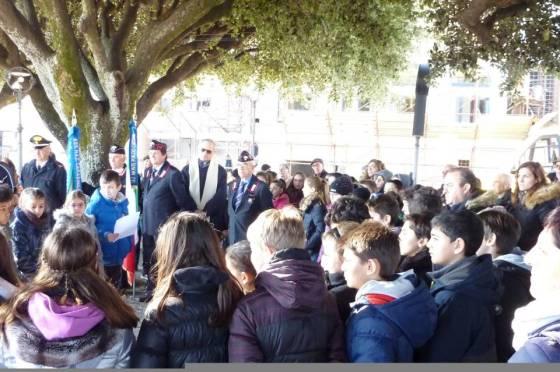 Giornata della Memoria a Monteporzio, l'intervento del Maresciallo Zucca