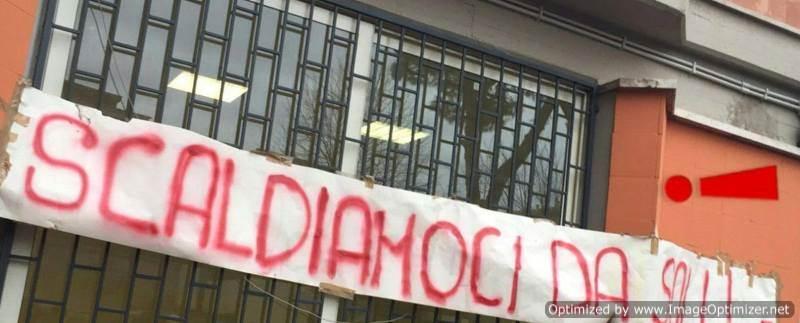 Scuole al gelo, Meta Magazine sostiene le proteste degli studenti, De Vito si dimetta