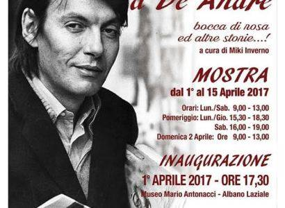 Mostra su Fabrizio De Andrè al Museo Civico di Albano