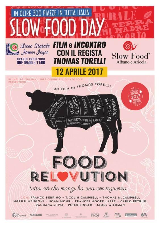 Slow Food Day 2017, la rivoluzione del cibo ad Ariccia