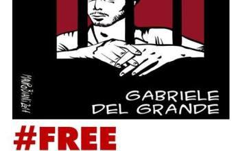 Gabriele Del Grande, l'Italia si mobilita
