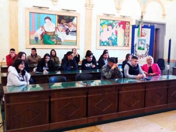 Studenti Dell'Iss Amari Mercuri a Palazzo Colonna