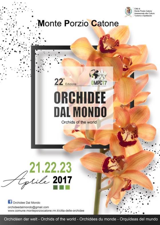 Monteporzio, nuova edizione di Orchidee dal Mondo 2017