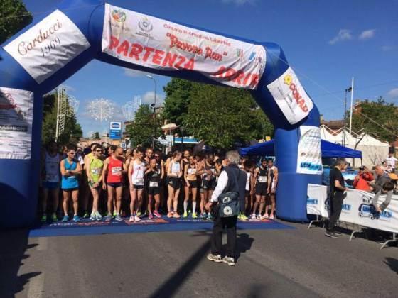 Corsa la 9a edizione della Pavona Run