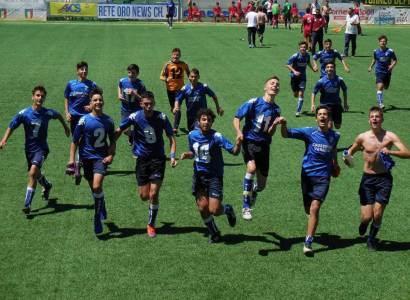 Albalonga calcio, trionfo dei Giovanissimi di Masi