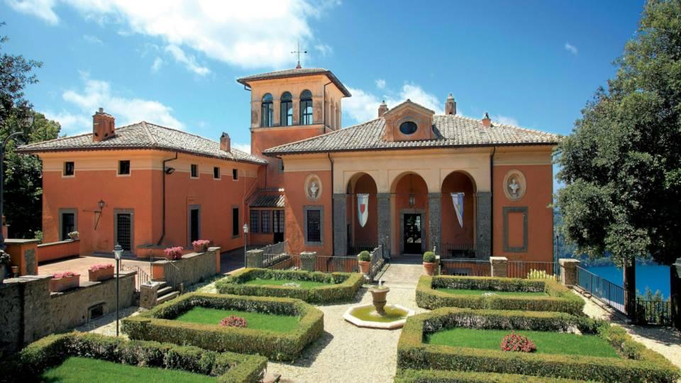 Villa Del Cardinale Lago Di Castelgandolfo