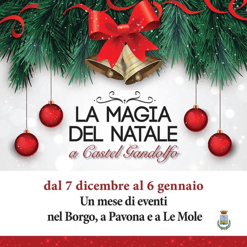 Castel Gandolfo L8 Dicembre Inizia La Magia Del Natale Meta Magazine