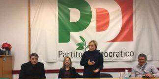 La candidata alla Camera dei Deputati Ileana Piazzoni inaugura a Genzano di Roma, assieme a Roberto Morassut, il suo comitato elettorale