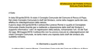lettera_prefetto_romei