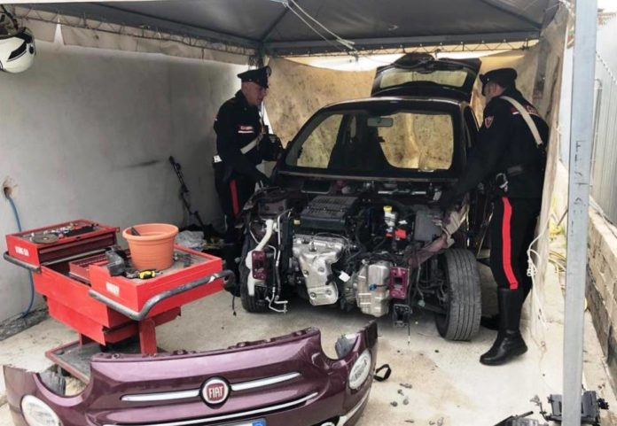 autovettura_sequestrata_carabinieri