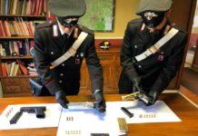 pistole_sequestrate_carabinieri