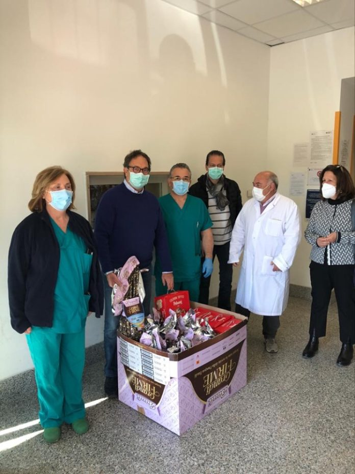 astorre_visita_ospedale_covid_palestrina