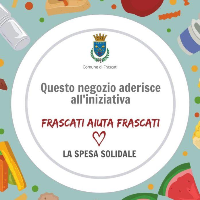 Il consigliere delegato al commercio, Mattia Ambrosio e il presidente di Unione Imprese Frascati rilanciano l'iniziativa Frascati aiuta Frascati