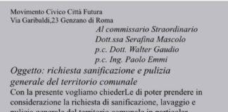 lettera_pulizia_genzano_citta_futura