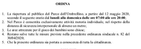 ordinanza_riapertura_parco_ombrellino