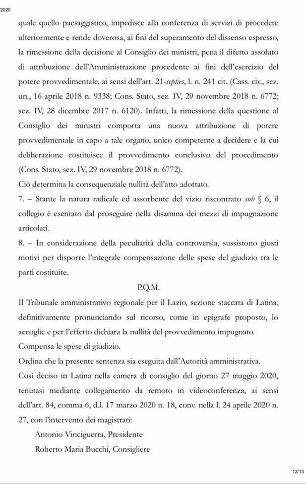sentenza_tar_lazio