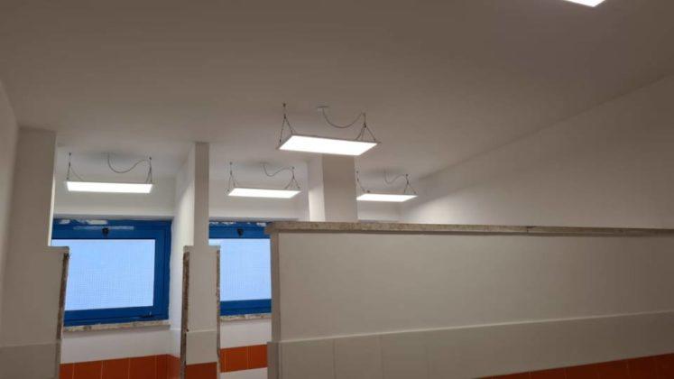 Lavori per riapertura delle scuole ad Albano