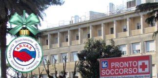 donazione_arvas_ospedale_san_sebastiano_frascati
